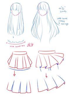 Hairs-And-Skirt by Hyanna-Natsu