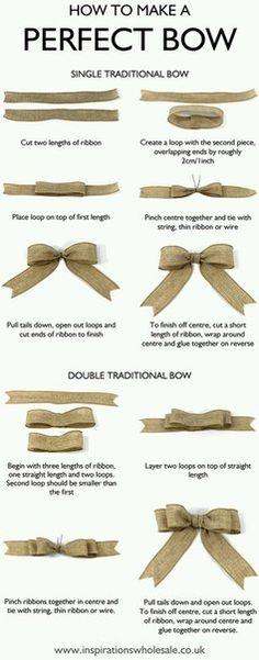 MASNI készítésének lépései How to make the perfect bow DIY tutorialMy life is a lie😭 and I thought people who did perfect bows were good at tying bows!How to make a Perfect Bow for gift wrapping, home décor and crafts ideas – both single tradi 242, Gift Bows, Diy Weihnachten, How To Make Bows, Make Hair Bows, Holiday Crafts, Diy Christmas Crafts To Sell, Making Ideas, Diy And Crafts