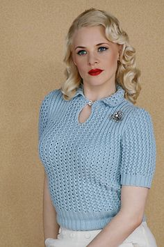 Ravelry: Dinahs Lacy Jumper pattern by Susan Crawford