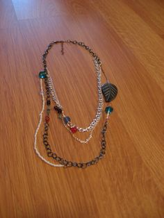 A handmade necklace.  One of my hobbies