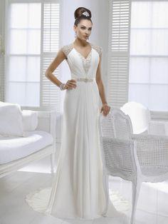Ronald Joyce wedding dress (Jenny Packham Style) (Size 8)