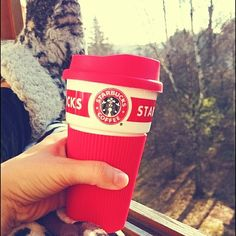 DAY 9 - heck yes! Enjoying this beautiful and sunny ☀ at my balcony with damn good ☕! Hot Coffee, Coffee Cups, Nirvana, Balcony, Starbucks, November, Challenge, Beautiful, November Born