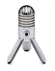 Samson Meteor Mic  Via: http://whatrocksandwhatsucks.com/best-usb-microphone/