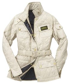 Barbour Quilted Jacket - Pearl