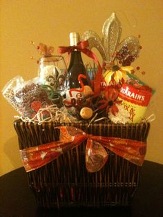 new orleans themed basket