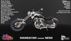 Second Life Marketplace - Turlaccor CustomBike Navigator Version NERO