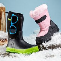 It's never too early to prepare for chilly temperatures. If your little love bug goes bananas for all things winter, make sure they're ready for it. We've compiled a collection of the most sturdy, weather-worthy footwear that Mom can find. Snow angels, snowball fights and fort building won't know what hit them. When style and adventure are at stake, take no chances.