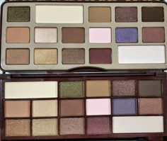 Makeup Revolution I Heart Chocolate Vs. Too Faced Chocolate Bar- Review and Swatches | The Budget Beauty Blog