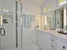 Contemporary Bathrooms from Adrienne Dorig Leland, CKD on HGTV