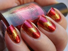 Color Club Berry & Bright OPI GoldenEye