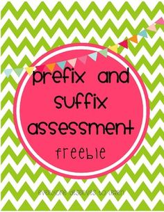 A great pre-test post-test or homework page for students learning about affixes! Prefixes included are re un mis and dis. 2nd Grade Ela, 2nd Grade Writing, Third Grade Reading, Second Grade, Grade 3, Fourth Grade, Teaching Grammar, Teaching Reading, Word Study