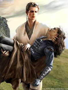 I don't know where this would fit in the Star Wars storyline, but it's a wonderfully tender piece with anakin and Padme.