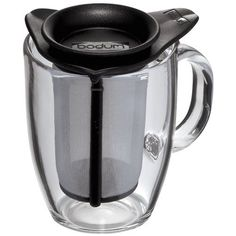 Bodum YoYo Set Mug and Tea Strainer 10Ounce Black >>> Be sure to check out this awesome product.Note:It is affiliate link to Amazon.