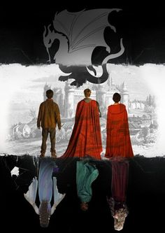 They are each other on opposing sides. Merlin and Morgana/ Arthur and Mordred/ Gwen and Morgause