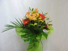 Bouquet Multicolor de L´Art Flores en Coslada, asociada a www.flores.apanymantel.com para cubrir a domicilio Coslada y San Fernando de Henares.