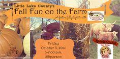 Little Playdate: Announcing Fall Fun on the Farm at Susanna Farms {Lake Villa}