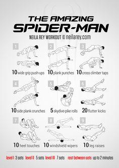 Amazing Spider-Man Workout