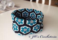 African Flower Bowl  Crochet pattern by JOsCrocheteria on Etsy, kr30.00