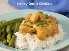 Honey Garlic Chicken in the Instant Pot
