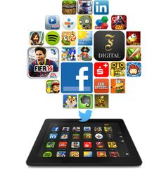Deine Apps auf dem Kindle Fire HD Tablet sehen wirklich gut aus!