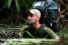 Ed Stafford - walked the entire length of the Amazon