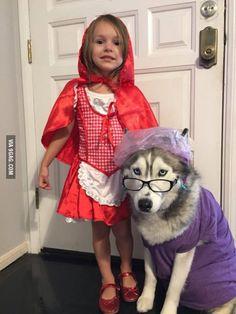 """süßes #Rotkäppchen #Kostüm, wenn man einen #Kindergeburtstag zum Thema """"Märchen"""" veranstaltet"""