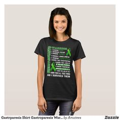 Gastrparesis Shirt Gastroparesis Warrior Gift Tee - Fashionable Women's Shirts By Creative Talented Graphic Designers - #shirts #tshirts #fashion #apparel #clothes #clothing #design #designer #fashiondesigner #style #trends #bargain #sale #shopping - Comfy casual and loose fitting long-sleeve heavyweight shirt is stylish and warm addition to anyone's wardrobe - This design is made from 6.0 oz pre-shrunk 100% cotton it wears well on anyone - The garment is double-needle stitched at the bottom…