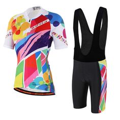 Uriah Women's Cycling Jersey Bib Shorts Black Sets Short Sleeve Reflective Doodles Size XXL(CN). Size Notice: This is not standard US Size, size may run smaller than US size, please check the size chart on the product image and product description before placing the order; If you're not sure about the size, please feel free to contact us (Unit Conversion: 1Inch = 2.54cm; 1lb = 0.454kg). Material: Jersey 100% Polyester Fabric; Black Bib Shorts: 80% Polyester and 20% Lycra; Strong moisture...