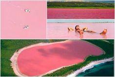 Lago Hillier, Middle Island, Australia