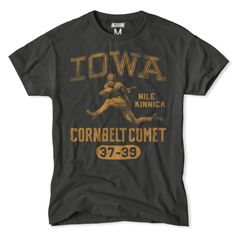 Iowa Nile Kinnick Cornbelt Comet T-Shirt.  Found at the Tailgate clothing store http://www.tailgateclothing.com/products/iowa-star-wars-tshirt