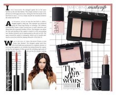 """""""Matchy Matchy Makeup"""" by amber-lanehart ❤ liked on Polyvore featuring beauty, NARS Cosmetics and matchingmakeup"""