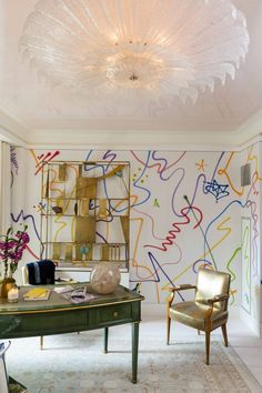 A fascinating Q&A with designer Phillip Thomas on the design of his innovative and vibrant 'Lady Lair' for the Kips Bay Decorator Show House.