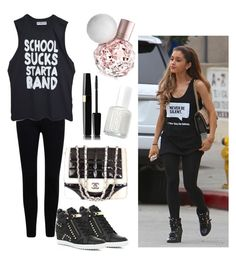 """"""""""" by lousworld on Polyvore featuring moda, River Island, Chanel i Essie"""