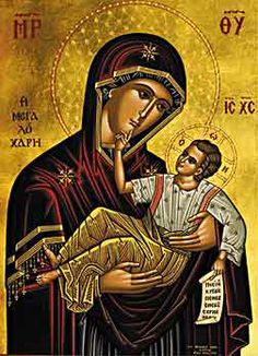 Iconograms features Orthodox icons, lives of Saints, hymns of the Eastern Orthodox Church and Ecards for almost any occasion! Blessed Mother Mary, Blessed Virgin Mary, Christian World, Christian Art, Religious Icons, Religious Art, St Constantine, God Of Wonders, Greek Icons