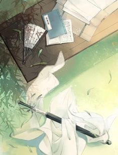 The Scum Villain's Self-Saving System (人渣反派自救系统) art Fantasy Landscape, Landscape Art, Aesthetic Art, Aesthetic Anime, Style Anime, Chinese Background, Chinese Wallpaper, Love Backgrounds, China Art