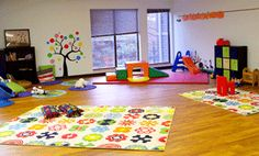 What a great space for kids to play!! @NewSelfRenewalCenter!