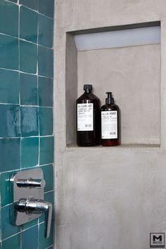 Hammam badkamer en douche | hammam bathroom and shower | Bron ...