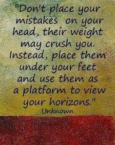 #mistakes
