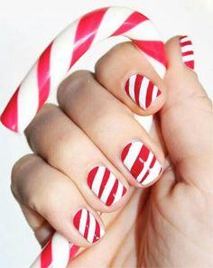 Holiday nails ^^ <3