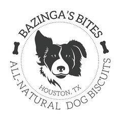 Dog Biscuit Logo, Bakery Logo, Houston Logo Design
