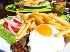 Bitoque!!! À la portuguesa ♥  Portuguese Steak & Egg .... delicious!