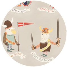 Alexander Henry, Vikings, The Vikings Taupe