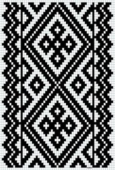 Discover thousands of images about Bunad, Smykker, vev & rosemaling: Kvarde smøyg mønster Tapestry Crochet Patterns, Bead Loom Patterns, Weaving Patterns, Mosaic Patterns, Cross Stitch Patterns, Tablet Weaving, Inkle Weaving, Inkle Loom, Knitting Charts