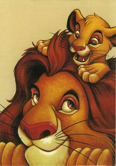 The Lion King Movie Simba and Mufasa My Father My Friend Disney Poster Print - Art Poster Print, Disney Pixar, Simba Disney, Film Disney, Arte Disney, Disney Lion King, Disney And Dreamworks, Disney Magic, Disney Art, Disney Movies