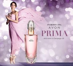 Introducing AVON Prima fragrance! 1.7 Fl. oz. (for a limited time only purchase this and receive a full size, Shower Gel and Body Lotion. To find this, go to: www.youravon.com/mferguson1172 Thank You!