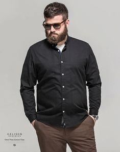Gelisen moda masculina marca inverno clássico fresco camisa de algodão espessamento e aumento de fertilizantes em Camisas casuais de Dos homens de Roupas & Acessórios no AliExpress.com | Alibaba Group