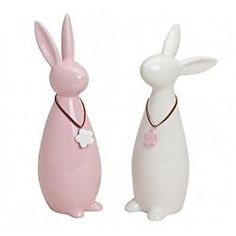 European Style White Rabbit Ceramic Piggy Bank Money Box A