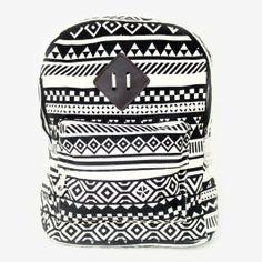 Herebuy - Cute Swallows Print Girls Backpack for School Bookbags ...