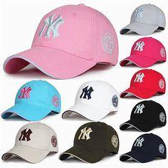 Fashion Men's Women's NY Cap adjustable Baseball Snapback Hat Unisex cap