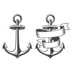 Anchors vector - by IvanMogilevchik on VectorStock®